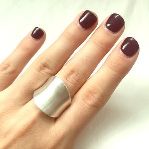 Bloomingdale's Silver Saddle Ring